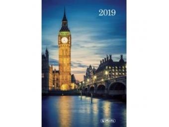 Herlitz Diár 2019 A5 denný 352 str,15x21cm Londýn
