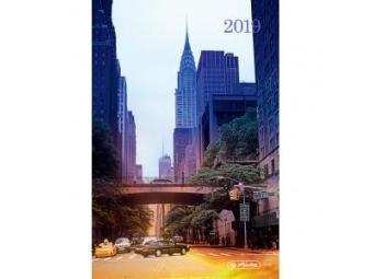 Herlitz Diár 2019 A5 denný 352 str,15x21cm New York