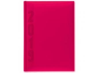 Herlitz Diár 2019 A5 denný 352 str,15x21cm, ružový