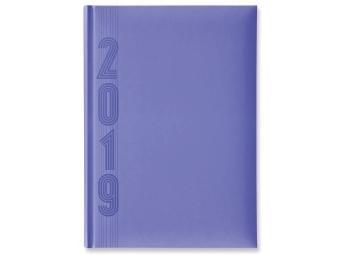 Herlitz Diár 2019 A5 denný 352 str,15x21cm, pastel.fialový