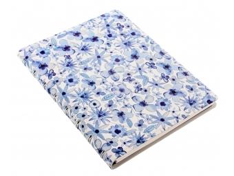 FiloFAX Notebook krúžk. pozn.blok, A5 Indigo Floral