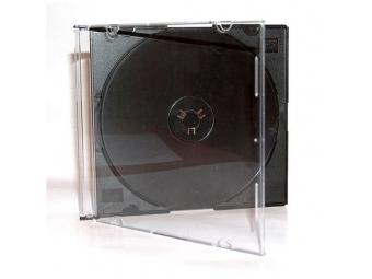 Obal na CD slim čierny 5,2mm (27036) (bal=10ks)