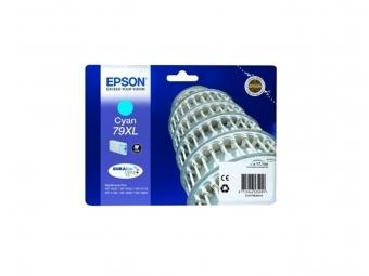 Epson T7902 Atramentová náplň Cyan 79XL