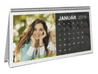 Kalendár stolový mesačný 28 x 13 cm
