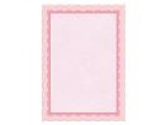 Apli Certifikačný papier bledoružový A4/115g (bal=25ks)