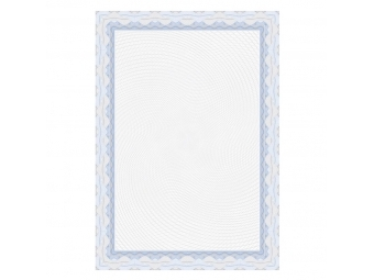 Apli Certifikačný papier modrý A4/115g (bal=25ks)