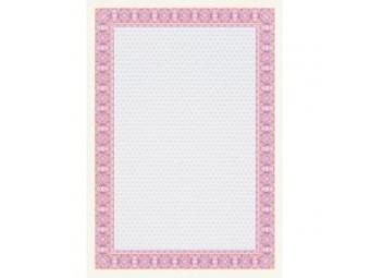 Apli Certifikačný papier ružový A4/115g (bal=25ks)