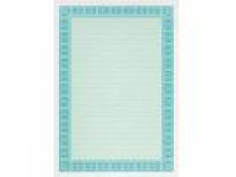 Apli Certifikačný papier tyrkysový A4/115g (bal=25ks)