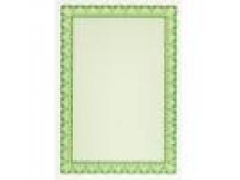 Apli Certifikačný papier zelený A4/115g (bal=25ks)