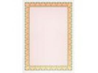 Apli Certifikačný papier oranžovo-zelený A4/115g (bal=25ks)
