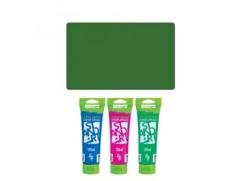 JUNIOR Akrylová farba 120 ml chrómová zelená 460