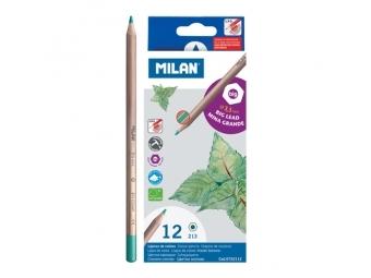 MILAN Pastelky 3,3mm 12ks šesťhranné