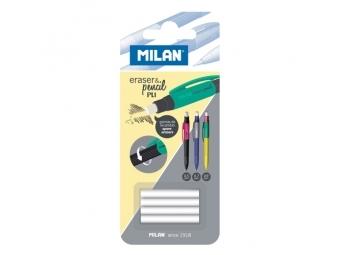 MILAN Náhradné gumy do mechanickej ceruzky sada 4 ks