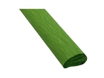 JUNIOR Papier krepový - olivový 25
