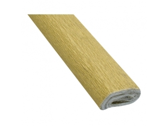 JUNIOR Papier krepový - zlatý 32