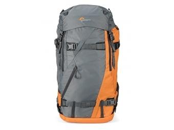 Lowepro POWDER BP 500 AW ruksak šedo/oranžový