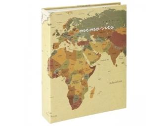 Hama 2580 Album memo World Map 10x15/200,popisové štítky