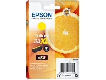 Epson T3364 Atramentová náplň Yellow Claria Premium, 33XL