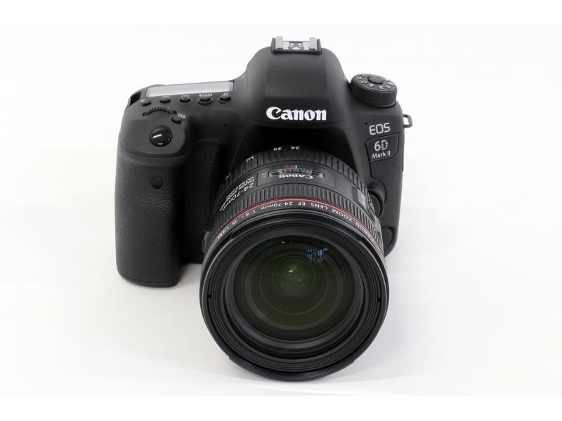 1e4a14c6e Canon EOS 6D Mark II + Canon EF 24-70mm f/4L IS USM -250€ CASHBACK ...