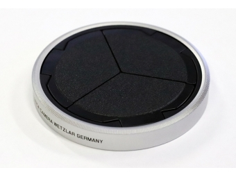 LEICA automatický kryt objektívu čierny/strieborný pre D-LUX (Typ 109) a D-LUX 7