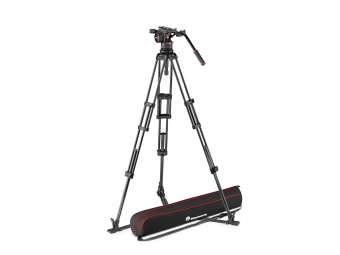 Manfrotto MVKN12TWINGC VIDEO statív karbon s hlavou Nitrotech N12 + taška