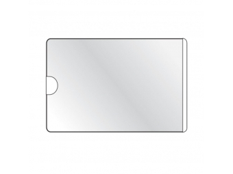 Durable Vrecko vizitkové 63x94 mm samolepiace s otvorom zboku (bal=100ks)