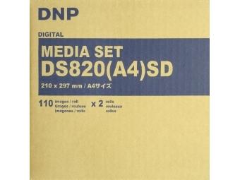 DNP A4 (21 x 29,7cm), 220 ks, DNP Digital 205 spotrebný materiál pre DNP DS820