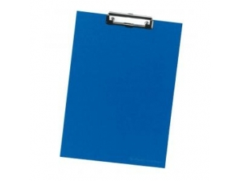 Herlitz Písacia podložka s klipom kartónová modrá