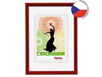 Hama 66535 rámček plastový Madrid 10x15 cm, červený