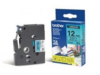 Brother TZE-531 Laminovaná páska 12mm modrá/čierna