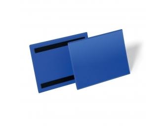 DURABLE magnetické vrecko na dokumenty 100x38 mm (bal=50 ks)