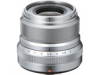 Fujifilm XF 23mm F2 R WR strieborný
