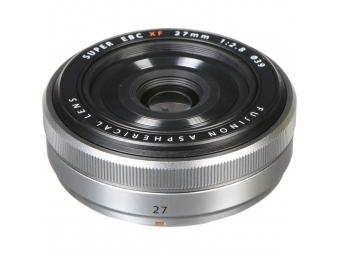 Fujifilm XF 27mm F2,8 pancake strieborný
