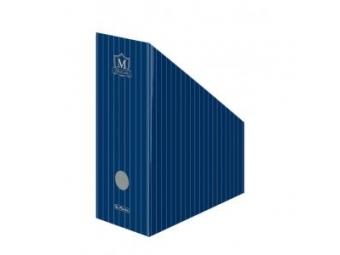 Herlitz Stojan na časopisy dizajn MONTANA kartón.,modrý