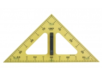 Linex BB260 Trojuholník tabuľový 50cm, 30/60/90°