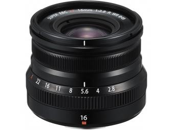 Fujifilm XF 16mm F2,8 R WR čierny