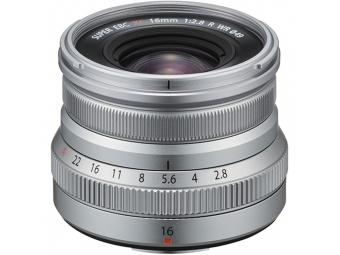 Fujifilm XF 16mm F2,8 R WR strieborný