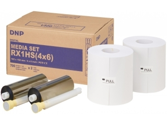 DNP 10x15 cm, 1400 ks, DNP Digital 205 spotrebný materiál pre DNP DS-RX1(HS)
