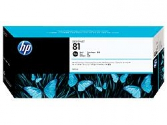 HP No.81 Atram. kazeta Black (C4930A)