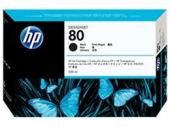 HP No.80 Atram. kazeta Black (C4871A)