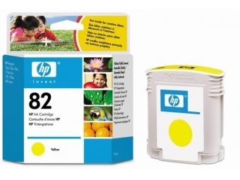 HP No.82 Atram. kazeta Yellow (C4913A)