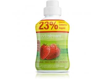 SodaStream sirup zelený čaj/jahoda 750 ml veľký
