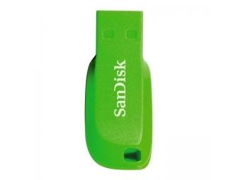 SanDisk Cruzer Blade 16 GB, elektrická zelená
