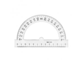 JUNIOR Uhlomer 12 cm, transparentný