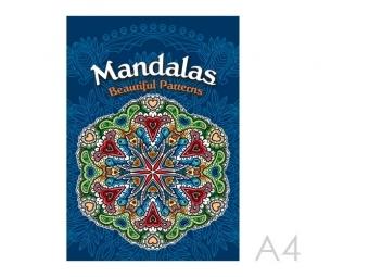 JUNIOR Antistresové omaľovánky pre dospelých - Mandaly
