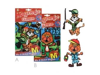JUNIOR Magnetická hra - Tiger and Lion