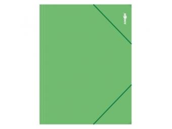JUNIOR Mapa zakladacia s gumičkou PP/A4, zelená