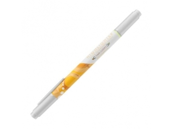 JUNIOR Zvýrazňovač AHM 21271, obojstranný - žltý/oranžový