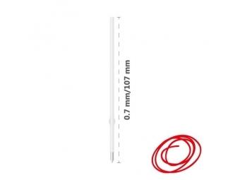 JUNIOR Náplň guľôčková X-10 0,7 mm, červená