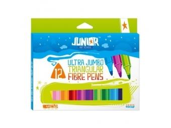 JUNIOR Fixy Jumbo 12 farebné